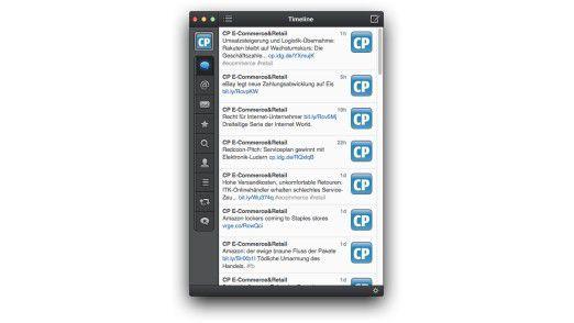 Tweetbot gibt es auch für Mac OS X, zahlreiche Clients für Windows sind ebenfalls verfügbar. Da ist für jeden Geschmack etwas dabei.