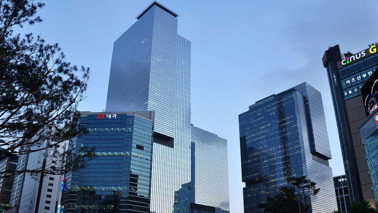 Die Samsung-Zentrale in Seoul