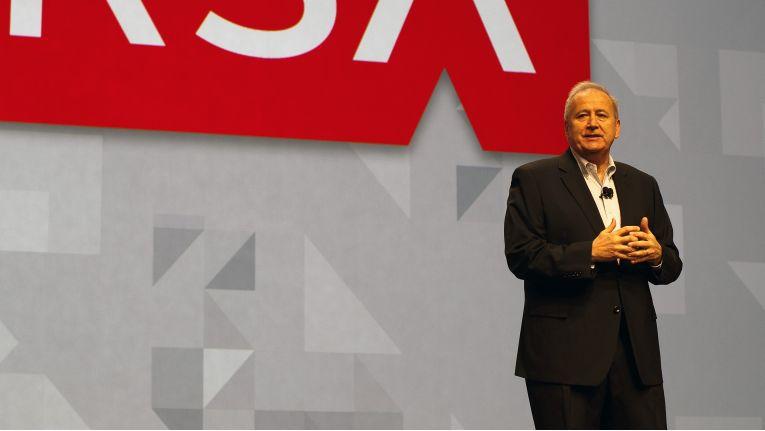 RSA-Chairman Art Coviello präsentierte auf der RSA Conference den neuen Ansatz der Security-Branche, aus Datenanalyse bessere Schutzmechanismen abzuleiten.