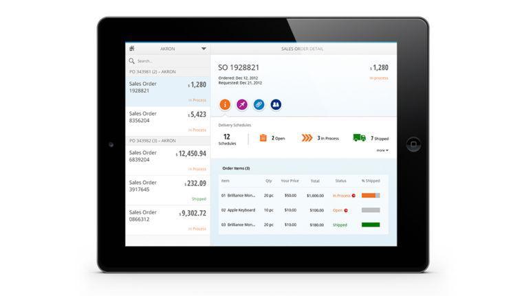 Mit Fiori hat SAP eine Designsprache etabliert, mit deren Hilfe die Benutzeroberflächen auf allen möglichen Devices und plattformunabhängig funktionieren sollen - vom PC bis zum Smartphone.