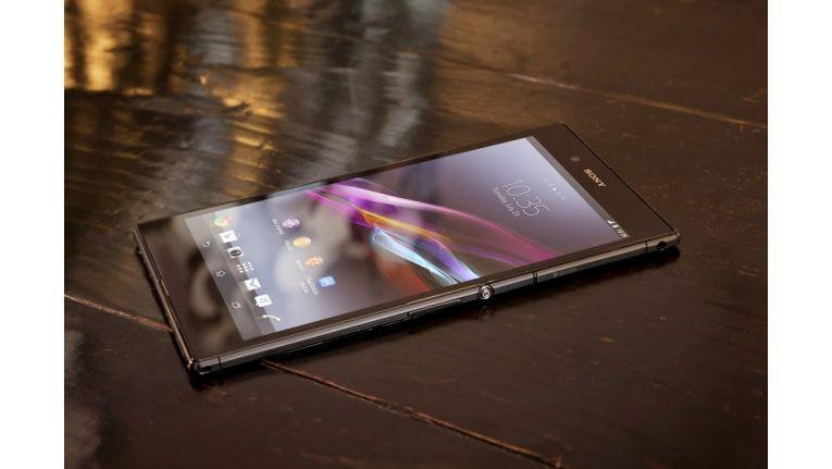Big screen. Big entertainment. So bewirbt Sony das neue Xperia Z Ultra mit 6,4-Zoll-Display.