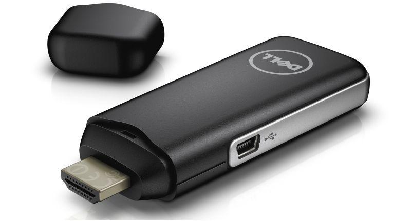 """Der HDMI-Stick """"Cloud Connect"""" verbindet Bildschirme via WLAN mit einer virtuellen Desktop-Umgebung."""