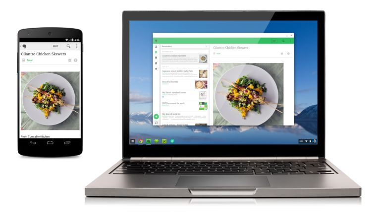Android-Apps laufen unter Chrome OS