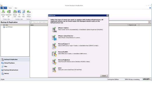 Veeam Backup & Replication: Neue Version soll im Herbst kommen und NetApp-Technologien beeinhalten.