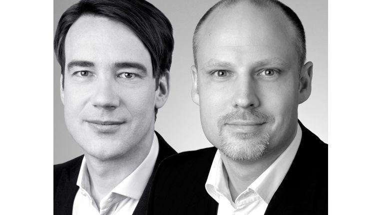 Die Cyberport-Geschäftsführer Rainer Kiefer (Sprecher, Produktmanagement, Finanzen) und Jeremy Glück (Marketing, Stores, Webshop, Vertrieb)