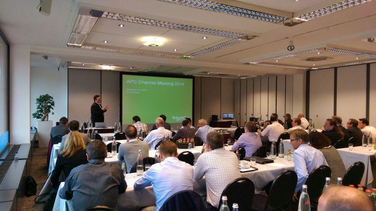 APC Channel Meeting 2014 in Düsseldorf: Neues Partnerprogramm kommt 2015