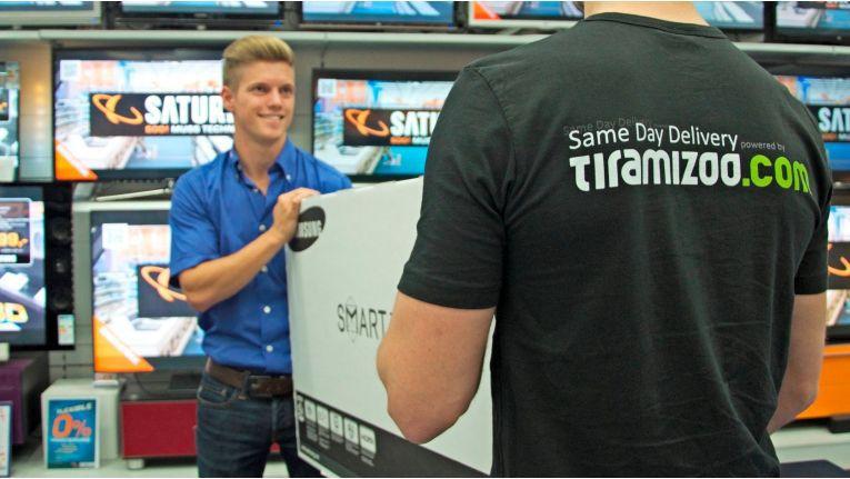 Kooperieren bei der Same-Day-Delivery: Media-Saturn und Tiramizoo