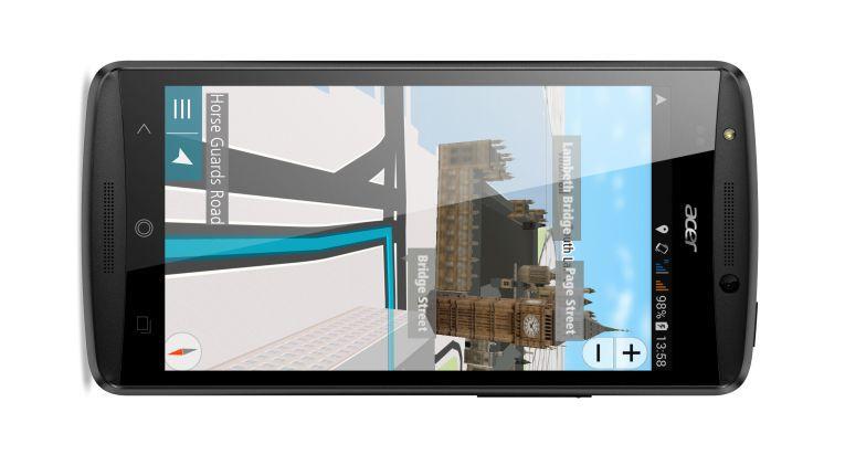 """AcerNAVApp für die Smartphone-Reihe """"Liquid""""."""