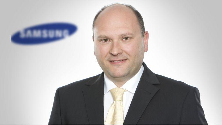 Als neuer Deputy President wird Martin Börner den Vertrieb und das Marketing der Samsung Electronic GmbH in Schwalbach leiten.