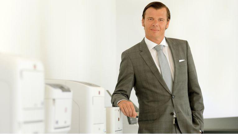 Olaf Sepold, Deputy Managing Director bei der OKI Systems (Deutschland) GmbH will zusammen mit den Fachhandelspartnern die Themen Managed Document Solutions und Managed Print Services voran bringen.
