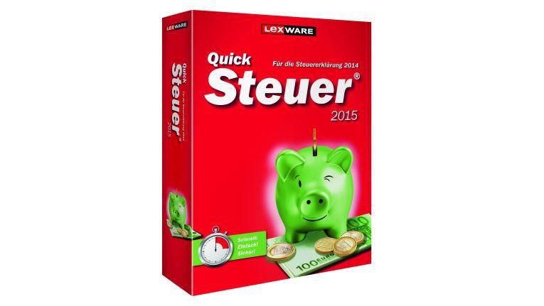Hilfe beim Steuern sparen mit dem leichtverständlichen Lexware Quicksteuer 2015