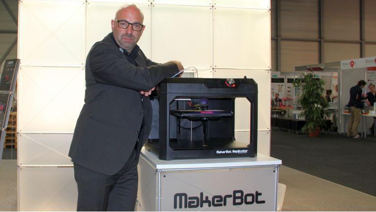 Alexander Hafner, General Manager MakerBot Europe, will mit dem Datech-Distributionsvertrag die Marktpräsenz seiner Produkte ausbauen.