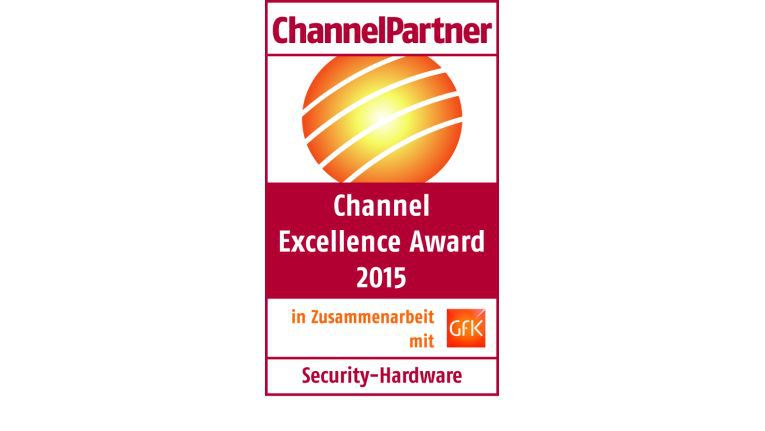 Channel Excellence Award 2015: Security-Hardware