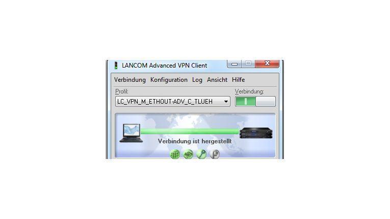 """Lancom VPN Client Windows 3.0: """"Niedrigere Kosten für Administration, User Helpdesk und Schulungen."""""""