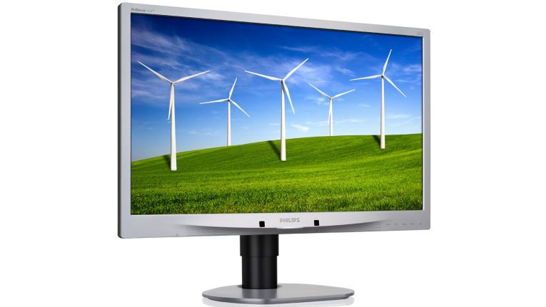 Adressiert die Business-Klasse: Der Philips Brilliance 241B4LPYCB ist ein LCD-Monitor mit LED-Hintergrundbeleuchtung, 61 cm oder 24 Zoll Bilddiagonale und B-line Full HD-Display mit Power Sensor.