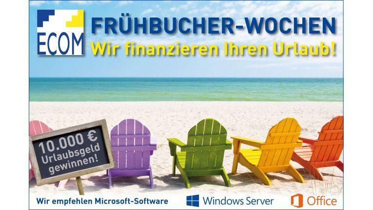Der IT-Distributor Ecom Trading und Microsoft starten die Frühbucherwochen, um den ersehnten Traumurlaub ein Stückchen näher zu bringen.