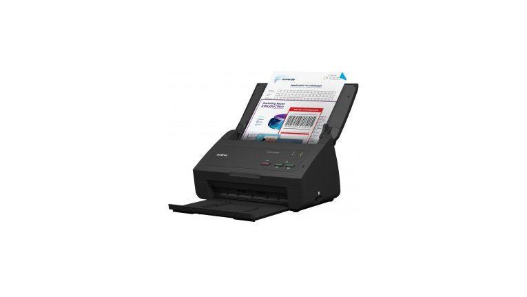 Brother ADS-2100e: ADF, Duplex-Scannen, Scan-to-USB und Multieinzugserkennung inklusive.