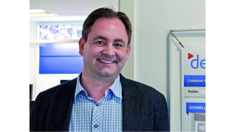 Expert-Gesellschafter, Online-Händler und eBay-Verkäufer in einer Person: Andreas Müller