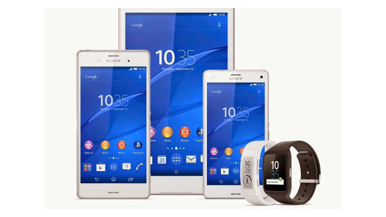 Die Sony-Xperia-Familie