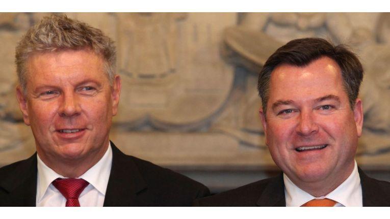 Dieter Reiter (SPD) und sein Vize Josef Schmid (CSU)