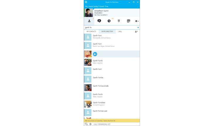 Der Lync-Client im neuen Gewand: Skype for Business