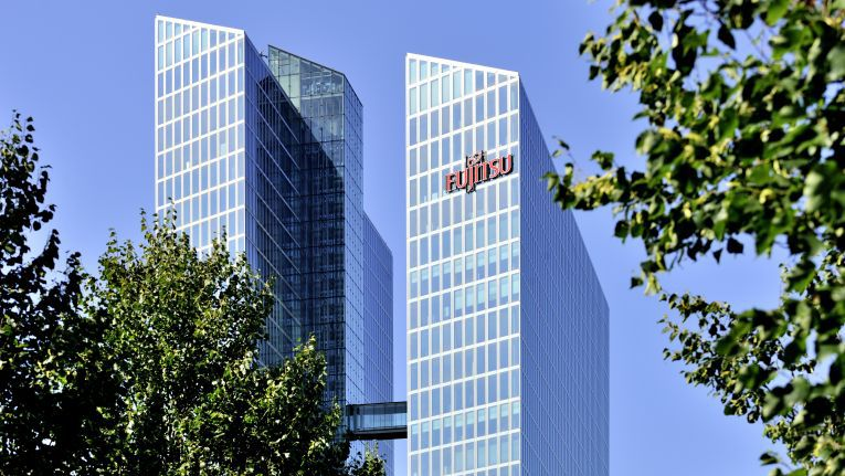 Fujitsu-Firmenzentrale in München
