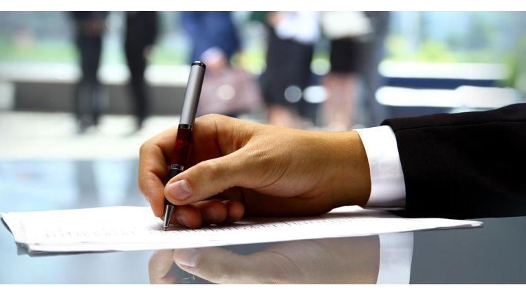 In bestimmten Bereichen kann die händische Unterschrift durch ein E-Siegel ersetzt werden.