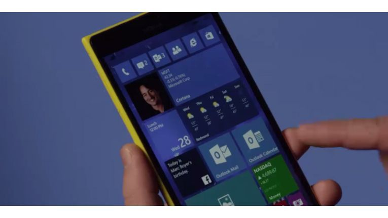 Preview von Windows 10 Mobile