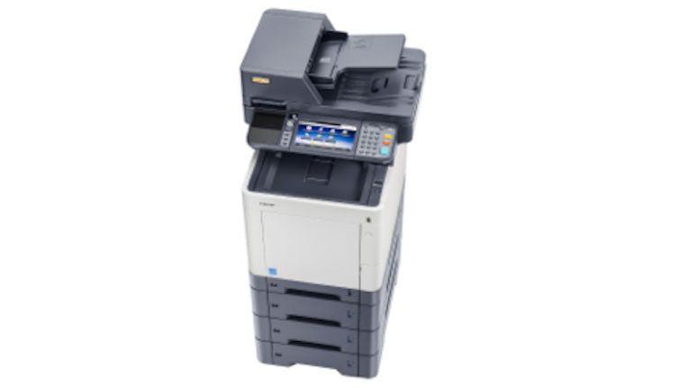 Utax P-C3565iMFP: über die Papierquellen sind bis zu 1.850 Blatt möglich.