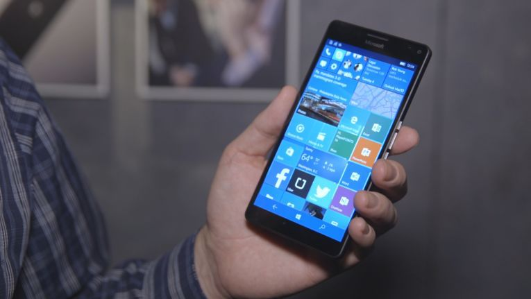 Smartphone mit Windows 10 Mobile: Microsoft Lumia 950 XL