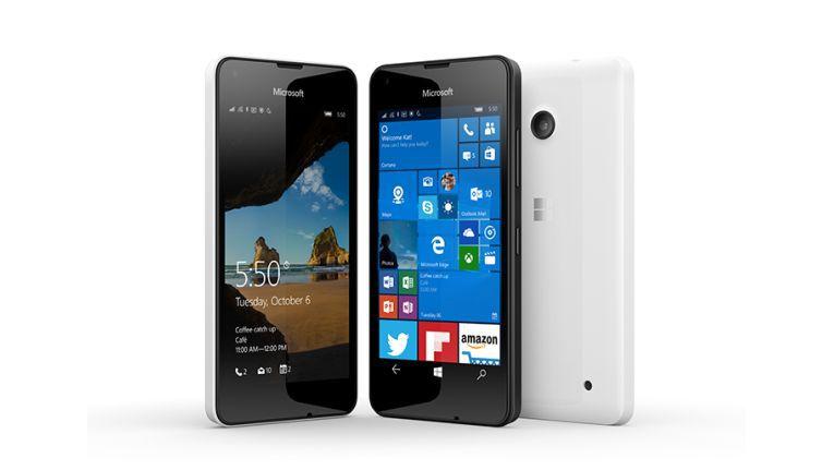 Das Microsoft Lumia 550 ist ab dem 19. Dezember verfügbar.