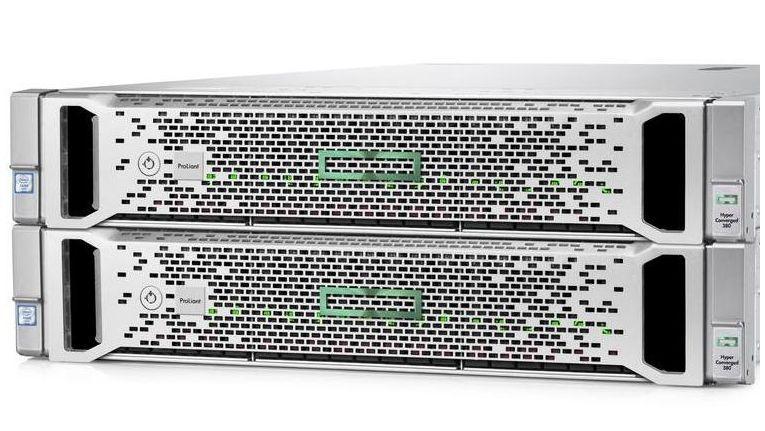 """Die """"Hyper Converged 380"""" (HC 380) von HPE ist ein hyperkonvergentes System für den Mittelstand."""
