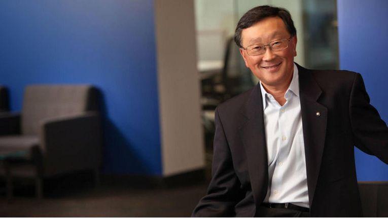 Blackberry-Chef John Chen will in diesem Jahr noch zwei neue Smartphones herausbringen.