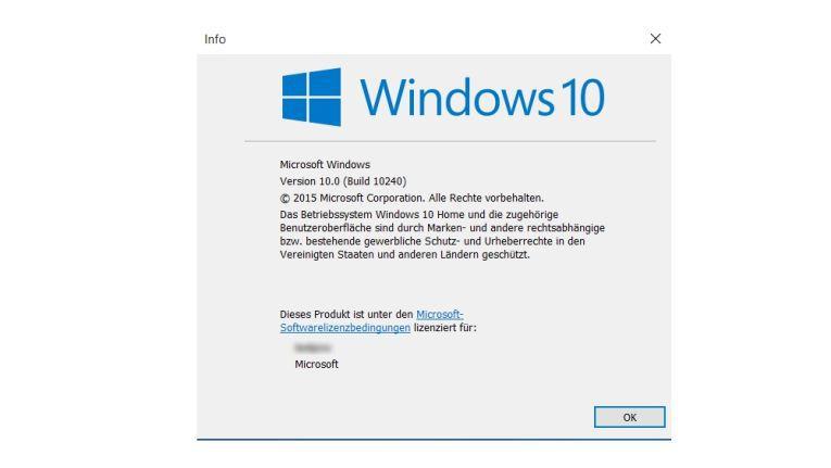 Build 10240: So geht Windows 10 an den Start.