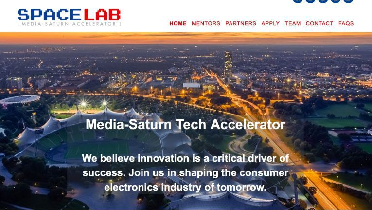 Mit dem Accelerator Spacelab will Media-Saturn junge Technik-Start-ups fördern