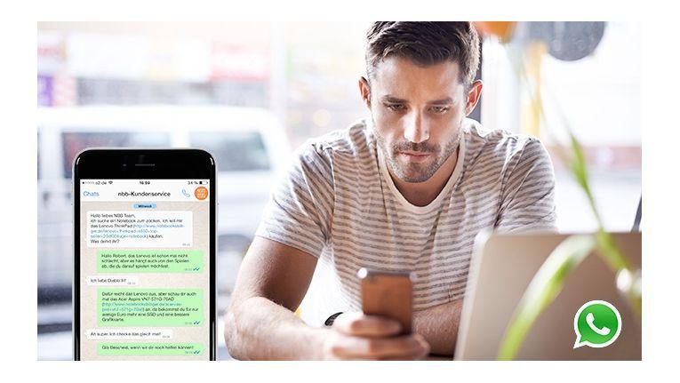 Notebooksbilliger.de nutzt ab sofort den Kommunikationskanal WhatsApp zur Kundenberatung