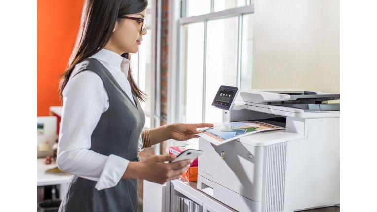 HP Laserjet Pro 400er: Drucker und MFP für den Mittelstand.