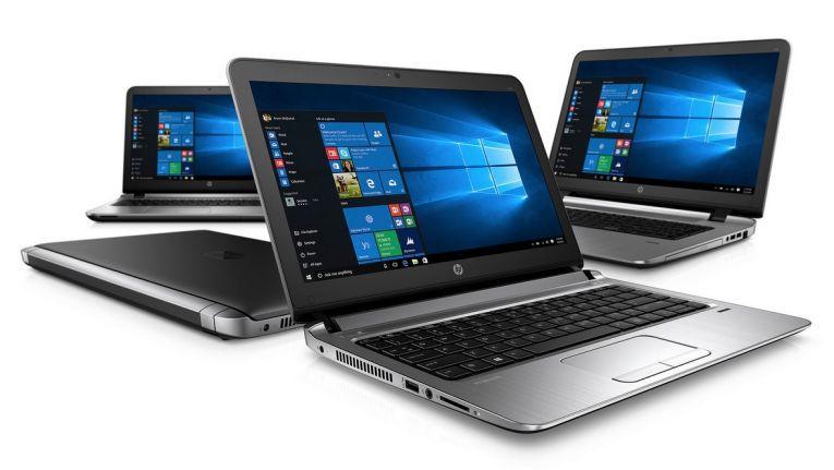 HP Pro Book 400: Verschiedene Gerätegrößen.