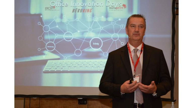 Büroring-Gruppenkoordinator Holger Rosa: Neue Herausforderungen in mehreren Produktbereichen.