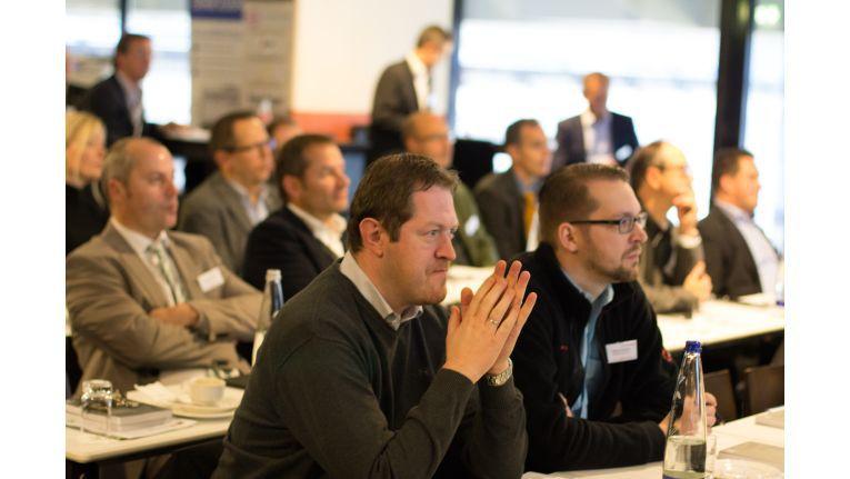 """""""Managed Services - Der Kick für Ihr Business""""- Event in der Münchner Allianz Arena war mit 40 Teilnehmern ausgebucht."""