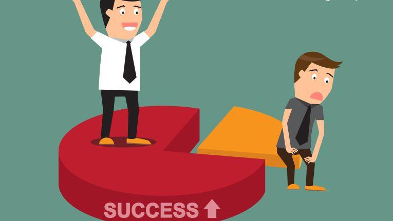 Top-Verkäufer sorgen für Unternehmenserfolg.
