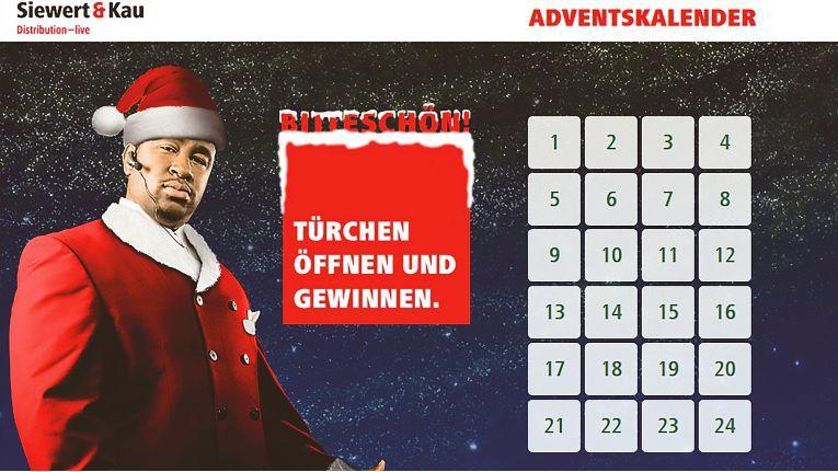 Ab 01. Dezember 2015, kurz nach Mitternacht, lässt sich das erste Türchen im Adventskalender öffnen. Registrieren kann man sich ab sofort.