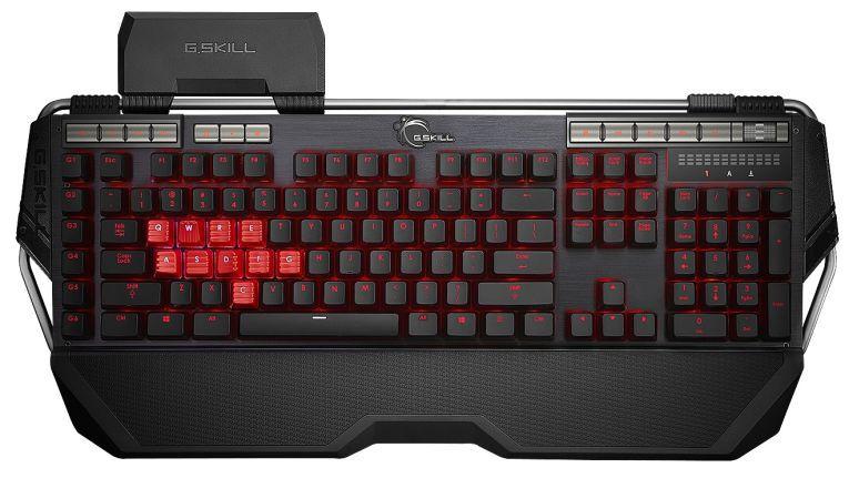 Die Qualität der seit über 25 Jahren produzierten G.Skill-Produkte genießt bei Gamern einen hervorragenden Ruf. Bei der Tastatur KM780 werden Cherry-Schalter und gebürstetes, eloxiertes Aluminium nach Militärstandard verbaut.