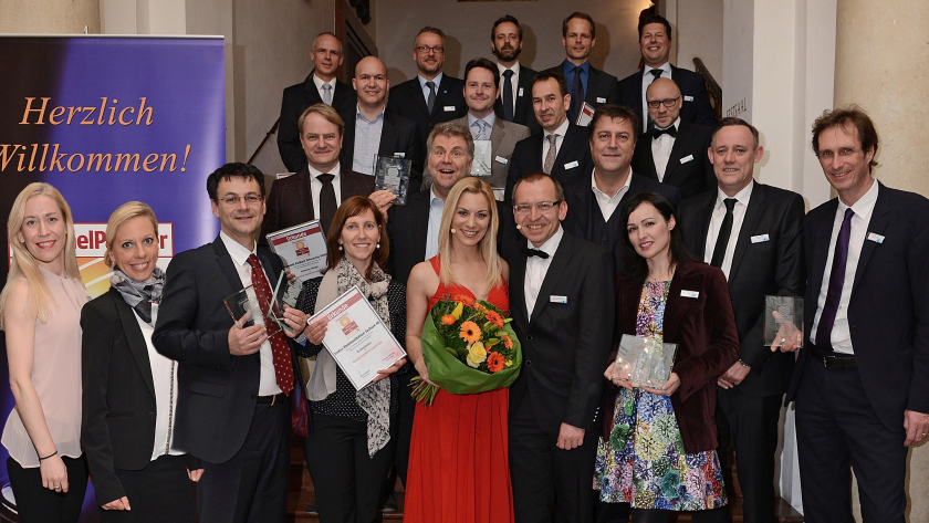 Am 25. Januar 2017 in München : GfK Channel Excellence Awards