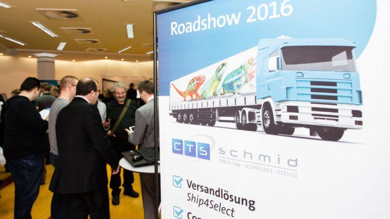 Auf der SelectLine Roadshow 2016 waren zahlreiche SelectLine-Partner vertreten.