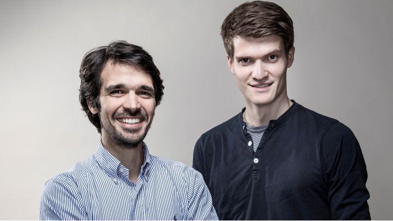 Die Protonet-Gründer Ali Jelveh und Christopher Blum.