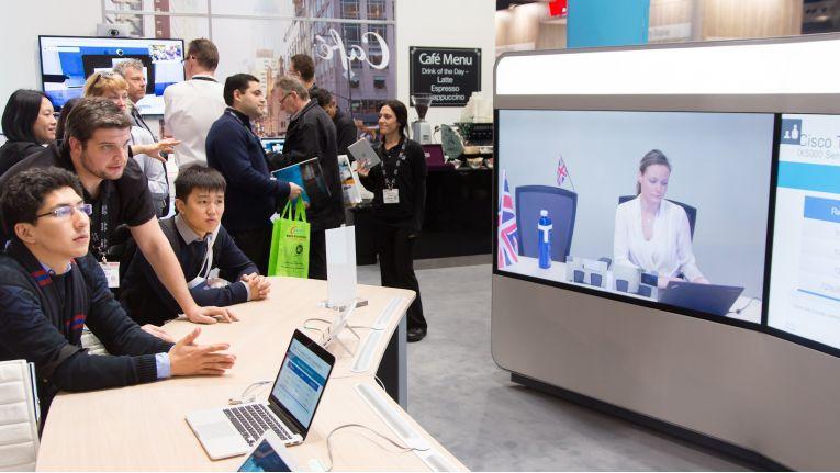 Mit einem Team erfahrener Technologie-Scouts hat sich Controlware auf der Integrated Systems Europe 2016 in Amsterdam, die Top-Trends im Bereich UC von Cisco angeschaut.