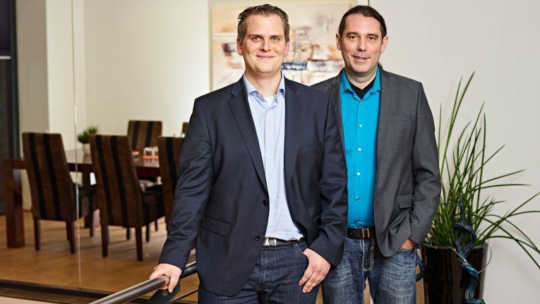 Netgo-Geschäftsführer Benedikt Kisner und Patrick Kruse.