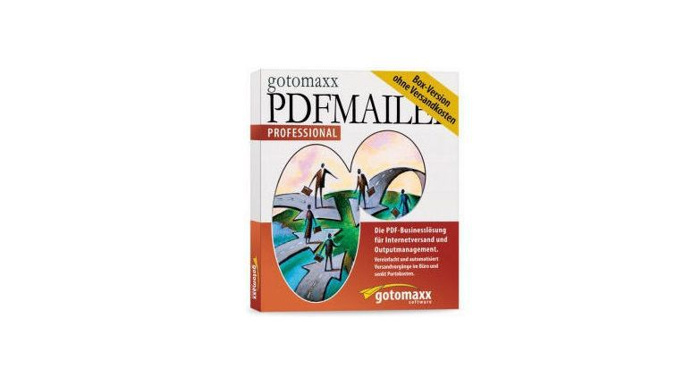 PDFMAILER Professional 6.0 - der Digitale Brief-Service. Mit dem Guthaben ist diese Software knappe 200 Euro wert.