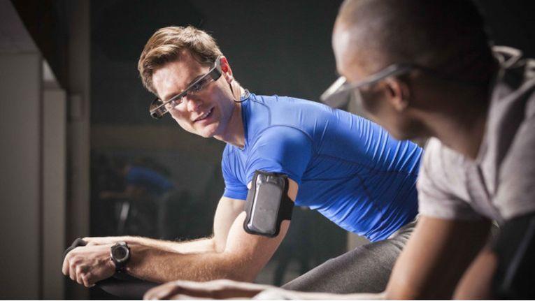 Epson zeigt auf der IFA die dritte Generation der Datenbrille ''Moverio''.